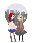 APH: Winter Stroll by imitationflower