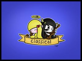 CLASSICAL GURLS 3 of 4 by podgypanda
