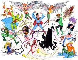JLA Pop Art 2007 by RichBernatovech