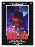 Ninjas Affiche by jlenoury