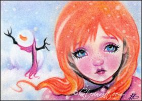 Do you want to build a snowman by Katerina-Art