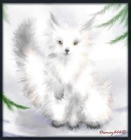 winter fox by Dismay666