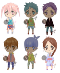 [OPEN]Shoujo Batch Adopts [2/6] SET PRICE $1/100P+ by Berry64-Adopts