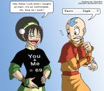 The Absent-minded Toph by Niban-Destikim