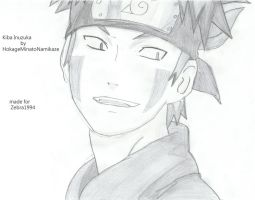 Request: Kiba Inuzuka by DragoRaven