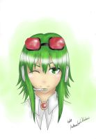 Gumi Megpoid! Happy Birthday Aria! by AnImAtEd-MeDoW
