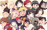 Naruto and Frands by Gumwad201