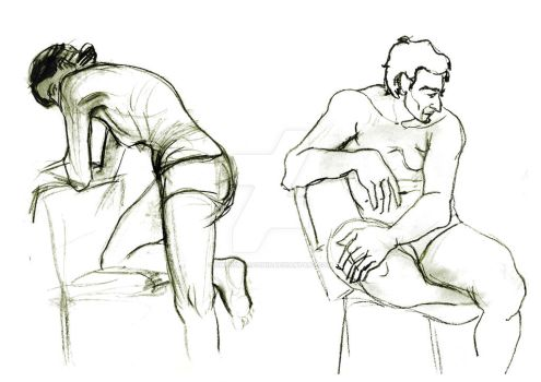 Body sketches by SwordDraconis