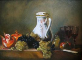 Still Life by Chardin by milbisous