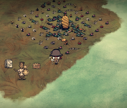 Don't Starve-Cactus by doydoy1956