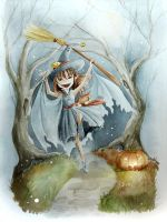 Fairy Happy Halloween by Elyon-freya