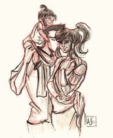 makorra family by papier-crane