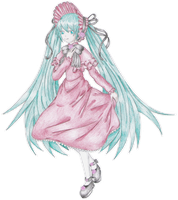 Rozen Vocaloid 01 - Colored by chemicaRouge