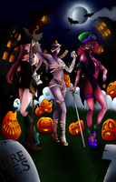 Queens Of Halloween by amylou2107