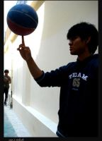 basket ball lover by unguviolet