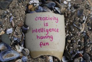 Creativity Equals Intelligence by Rhiallom