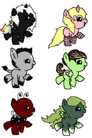 Baby Pony Pointables :CLOSED: by PikPik-Adoption
