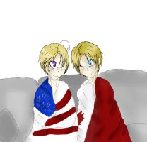 APH: UsCan snuggle by theamecan