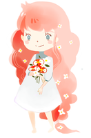 Flower Girl by Pochi-mochi