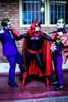 I won`t allow harm Gotham Joker! by YutarnaThetys