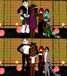 MMD Tanuki and Family UPDATE DL by Nanashione