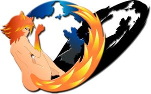 Firefox Girl v.2 by MoeStrif