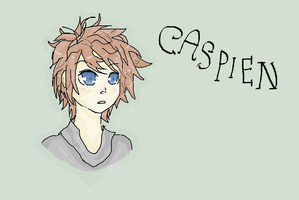 Caspien :D My new OC (ON MS PAINT, WITH MOUSE) by LadyDeathCandy