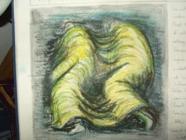 Henry Moore War Drawing Colour by ElectricBlueGee