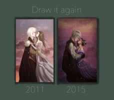 Draw it again valentine evening by soapybubbles3