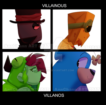 Villainous: Villanoz by TairusuKU