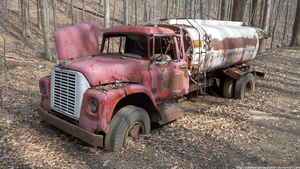 LR - Abandoned fuel truck by NickACJones