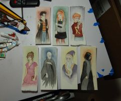 Harry Potter Bookmarks Preview by Lamorien