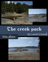 The creek pack by LunaNYXstock