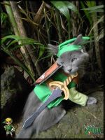 TLoZ Four Paws: Green Link by CyanideKandies