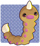 013 Weedle by Miss-Glitter