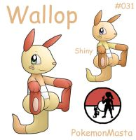 Wallop 031 by PokemonMasta