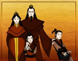 Avatar Happy Family by wolfanita