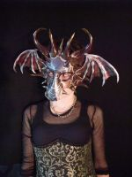 Prism Leather Dragon Mask by Jedi-With-Wings
