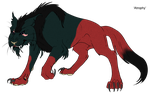 'Atrophy' - Demon Cat Adopt - Adopted by Feralx1