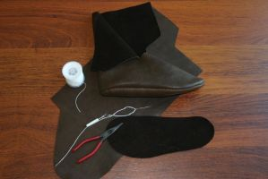 Viking turnshoe WIP by Technojunk12