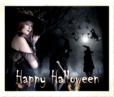 Happy Witch-ful Halloween by thefantasim