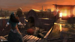 Assassin's Creed Revelations - Rhodes Souk by Rez-art