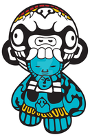 Munny Sticker by Turuel