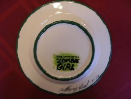Zombie Girl Plate 03 Back by Gummibearboy