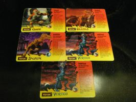 Primal Rage Cards by ESJBond007
