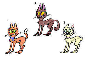 Cat Adopts! (Closed) by Spookly