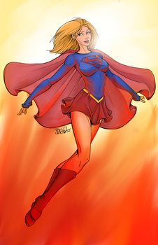 Supergirl [Colored] by Nishant321go