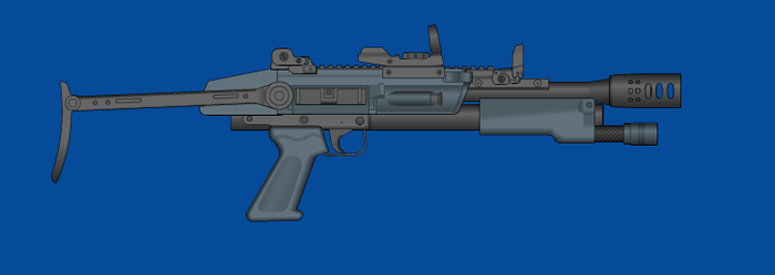 Blue Arms M12 Lockdown by andyshadow26
