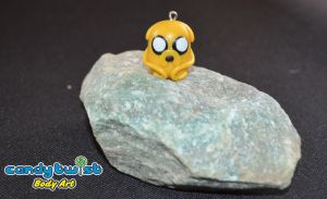 Polymer Clay Jake the Dog by Dabstar