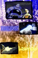 Thunder and Lightning Collage by camacam11